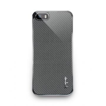 iPhone5/5s- Corium Series-玻纖保護背蓋-深灰色