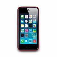 iPhone 5 5s-Trim Series-邊框保護套-深紅色