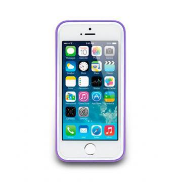 iPhone 5/5s-Trim Series-邊框保護套-丁香紫