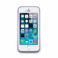 iPhone 5 5s-Trim Series-邊框保護套-丁香紫