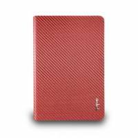 iPad mini- 玻纖對開式保護套-赭紅色
