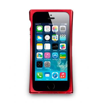 iPhone 5/5s- V-Trim- 可立式鋁合金保護框- 酒紅色