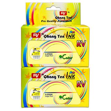 RV For EPSON T018051 (彩色) 相容墨水匣2入