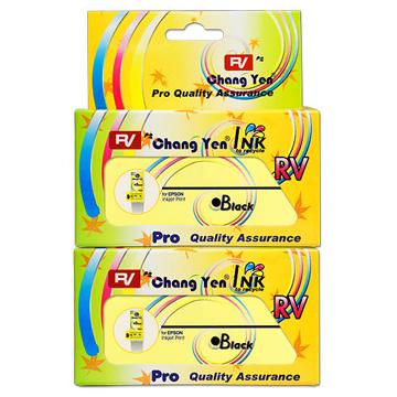 RV For EPSON T026051 (黑色) 相容墨水匣2入