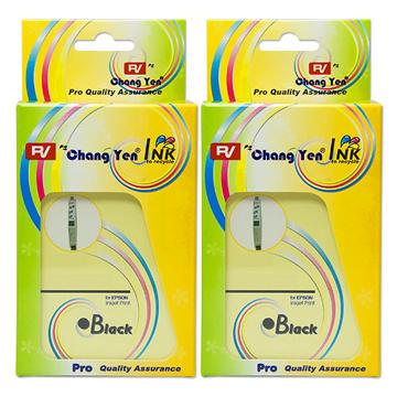 RV For EPSON T046150 (黑色) 相容墨水匣2入