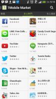 1Mobile Android APP:可以看各種不同地區的APP排行