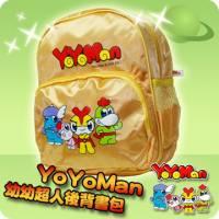 YoYoMan-幼幼超人後背書包 黃