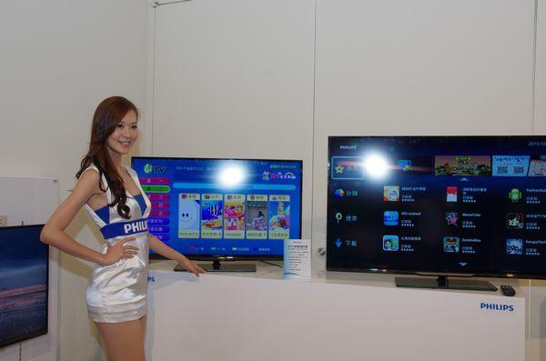 PHILIPS 宣示重返台灣智慧電視市場,主打大尺寸與提供多元內容
