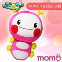 MOMO-歡樂谷毛毛蟲13吋絨布玩偶