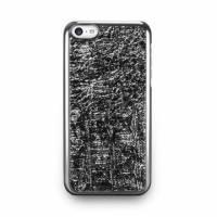 iPhone 5c- 星燦壓紋背蓋- 亮銀色