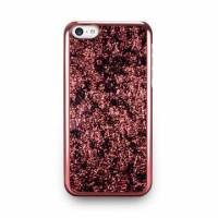 iPhone 5c- 星燦壓紋背蓋- 波斯紅
