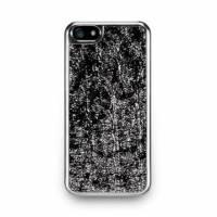 iPhone 5s- 星燦壓紋背蓋- 亮銀色