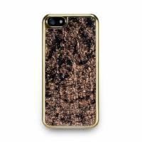 iPhone 5s- 星燦壓紋背蓋- 香檳金