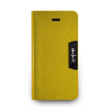 iPhone 5s- 玻纖保護套- 芥黃色
