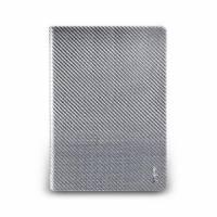 iPad Air- 玻纖多功能保護套- 亮銀色