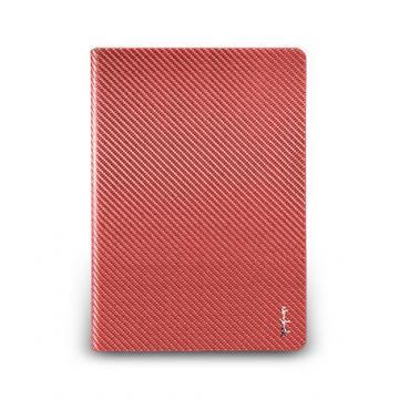 iPad Air- 玻纖多功能保護套- 赭紅色