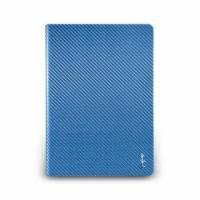 iPad Air- 玻纖多功能保護套- 天藍色