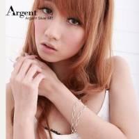 【ARGENT銀飾】手工鍊系列「行跡」純銀項鍊