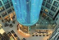 擁有無敵「水」景的高級飯店Crossover水族館