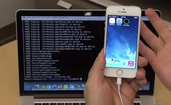 影片示範: iPhone 5s 運行 iOS 7.1.1 也成功 JB 破解 [影片]