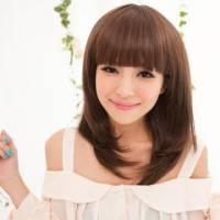 【MC080】妹妹頭羽毛修臉短直髮