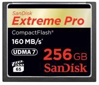 滿足 4K 專業錄影需求, SanDisk 推出符合 VPG 規範之 256GB Extreme Pro CompactFlash