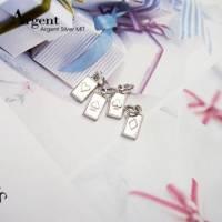 【ARGENT銀飾】迷你系列「小撲克 任選 4選1 」純銀項鍊 單條價