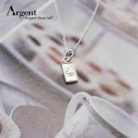 【ARGENT銀飾】迷你系列「小撲克-梅花♣ club 」純銀項鍊