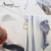 【ARGENT銀飾】迷你系列「小撲克-方塊♦ diamond 」純銀項鍊