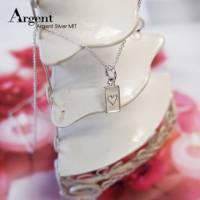 【ARGENT銀飾】迷你系列「小撲克-紅心♥ heart 」純銀項鍊