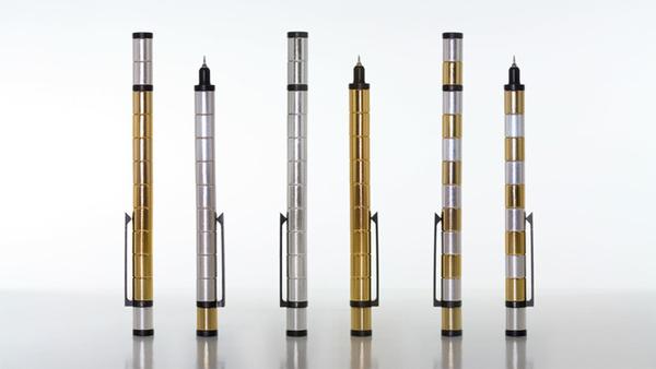 文具界的新創舉,是文具也是玩具的磁鐵原子筆