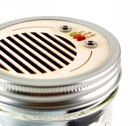 既潮又環保的玻璃罐音響,你看過嗎?