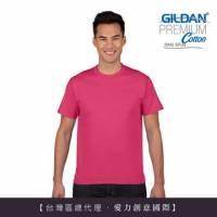 GILDAN 總代理-100 美國棉~亞規成人圓筒短袖素面Thirt 1件