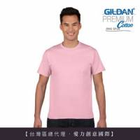 GILDAN 總代理-100 美國棉~亞規成人圓筒短袖素面Thirt 3件