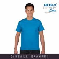 GILDAN 總代理-100 美國棉~亞規成人圓筒短袖素面Thirt 5件