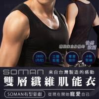 SOMAN雙層纖維肌能衣