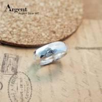 【ARGENT銀飾】造型系列「魅力 寬.男.8mm 」純銀戒指 多角切面 手工製做