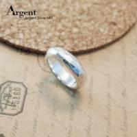 【ARGENT銀飾】造型系列「魅力 細.女.6mm 」純銀戒指 多角切面 手工製做