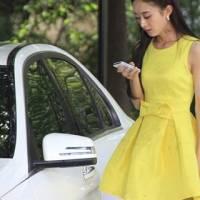 時尚伊人 妻子的秘密趙麗穎同款百搭黃色洋裝連身裙-S M L