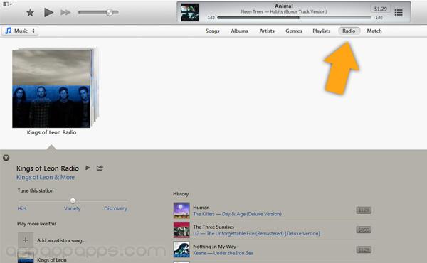 [iOS教學]iTunes Radio突破限制, 教你美國以外免費用