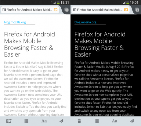 Firefox for Android 能更輕鬆分享你最愛的網頁
