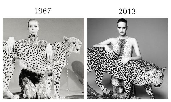 抄襲、致敬還是承傳?時尚攝影的隔世重現