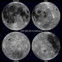 中秋節看不到月亮了?好吧,那來看一下難得一見會轉動的月亮影片
