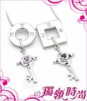 鎖愛純銀項鍊對鍊