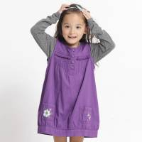 CHEROKEE 女童花苞式無袖連身裙 紫羅蘭