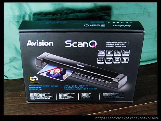 更進化的隨身掃瞄器 Avision ScanQ 開箱+實作