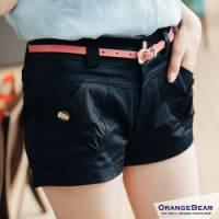 『0701新品 自然悠活~雙釦拉鍊式休閒棉質短褲‧3色』