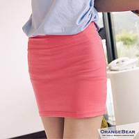 『0705新品【特價款】玩味color~二穿高彩度糖果色棉質短裙.4色』