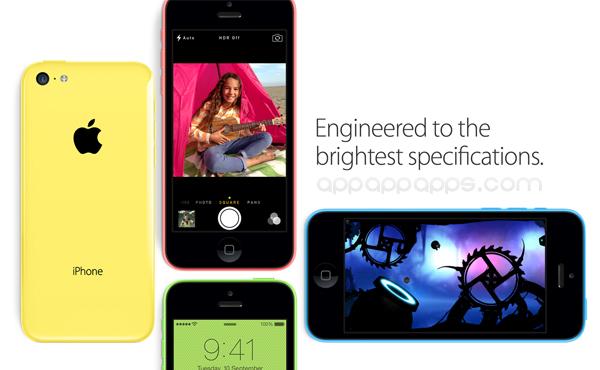 iPhone 5C 全記錄是 Color 不是 Cheap:鮮艷顏色全新系列 iPhone