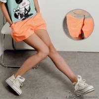 『【夏日下著任選65折】奔放活力~純淨柔和清爽感裙片棉麻短褲‧3色』